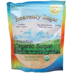 Heavenly Organics Sugar - 20 oz. - HBC