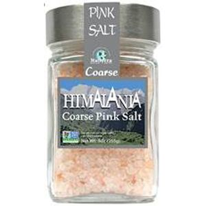 Himalayan Coarse Pink Salt in Glass Jar 9oz - HBC