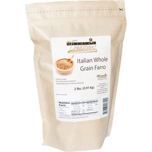 Italian Whole Grain Farro - 2 lb Bag