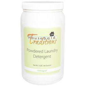 Household Traditions Powdered Laundry Detergent - Lemongrass – 3lbs.