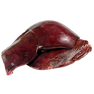 Pet Food - Grass-fed Beef Liver - approx. 1 lb. ea. (7-liver minimum)