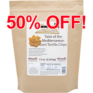 Taste of the Mediterranean Tortilla Chips 13 oz.
