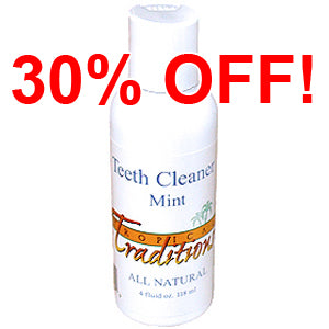 Mint - Teeth Cleaner - 4 oz. - All Natural