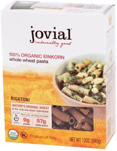 Organic Einkorn Whole Grain Rigatoni - 12 oz.