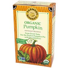 Organic Pumpkin Puree - 16 oz. tetra pak box