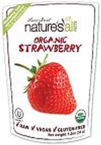 Organic Raw Freeze Dried Strawberry - 1.2 oz
