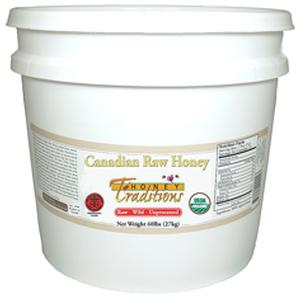 Raw Wild Canadian Honey - 15 lb. Pail - HBC