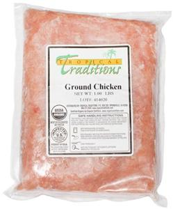 Soy-free Ground Chicken - approx. 1 lb. (6 lb. minimum)