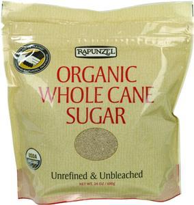 Organic Whole Cane Sugar - 1.5 lbs.