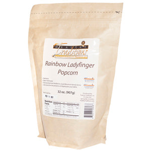 GMO-tested Lady Finger Popcorn - 2lb. bag - HBC