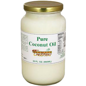 Pure Coconut Oil - 1 quart - HBC