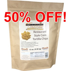 Restaurant Style Corn Tortilla Chips 13 oz.