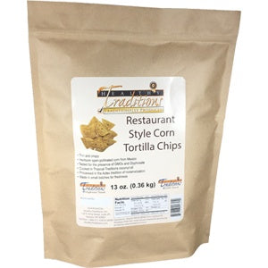 Restaurant Style Corn Tortilla Chips 13 oz. - HBC