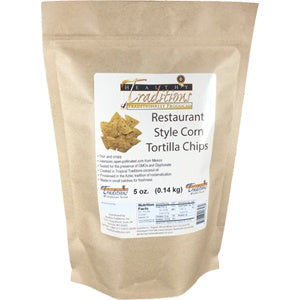 Restaurant Style Corn Tortilla Chips 5 oz. - Wholesale