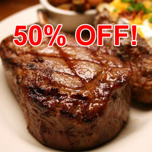 Grass-fed Beef - Rib Eye Steak - Boneless, approx. 11 oz. each (4 steak minimum)
