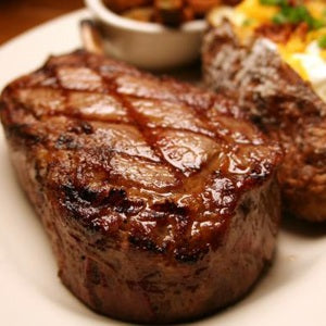 Grass-fed Beef - Rib Eye Steak - Boneless, approx. 11 oz. each (4-steak minimum)