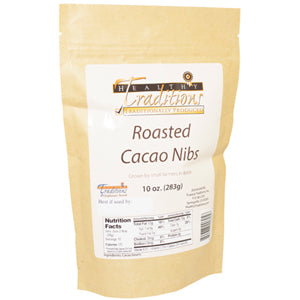 Roasted Cacao Nibs - 10 oz.
