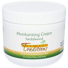 Moisturizing Cream - 4 oz. - Sandalwood - HBC