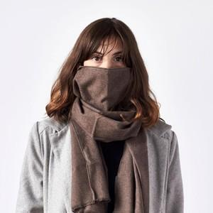 Scarf + 1 Filter, Jasper - Brown, Unisex