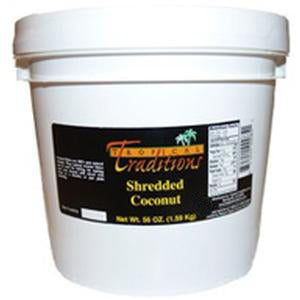1-Gallon Pail 3.5-lbs - Shredded Coconut
