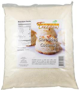 Organic Shredded Coconut - 2.2-lb Bag