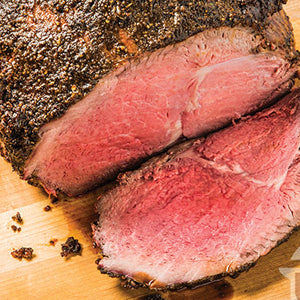 Grass-fed Bison Sirloin Tip Roast, approx. 2.7 lbs. (2-roast minimum)