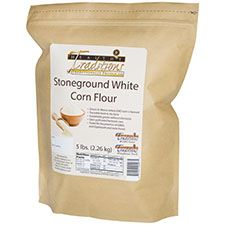 GMO-tested White Corn Flour – 5lb. Bag - HBC