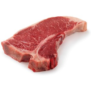 Grass-fed Beef T-Bone Steaks, approx. 15 oz each (4 steak minimum)