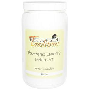 Household Traditions Powdered Laundry Detergent - Tea Tree - 3lbs.
