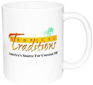 Tropical Traditions Ceramic Coffee Mug