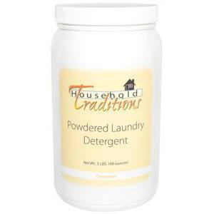 Household Traditions Powdered Laundry Detergent - Unscented – 3lbs.