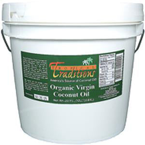 Virgin Coconut Oil, Green Label - 1 gallon - HBC