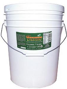 Virgin Coconut Oil, Green Label - 5 gallons