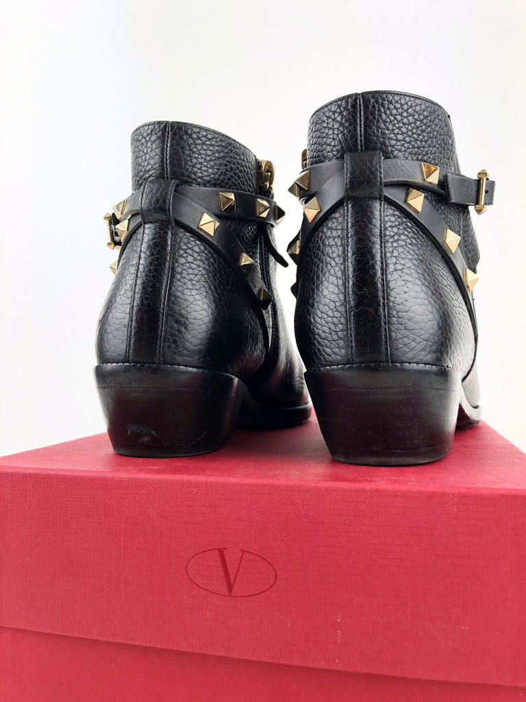 Valentino Ankle Boots - Str 37,5
