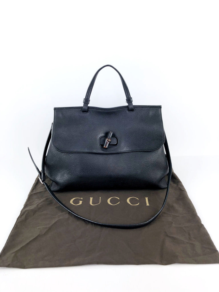 Gucci Bamboo Daily Top Handle Bag/Taske