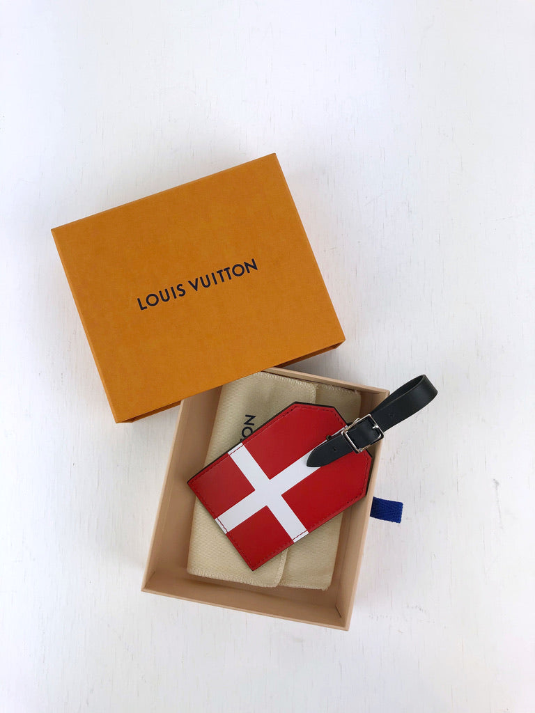Louis Vuitton Denmark Luggage Tag - Limited Fifa World Cup 2018.