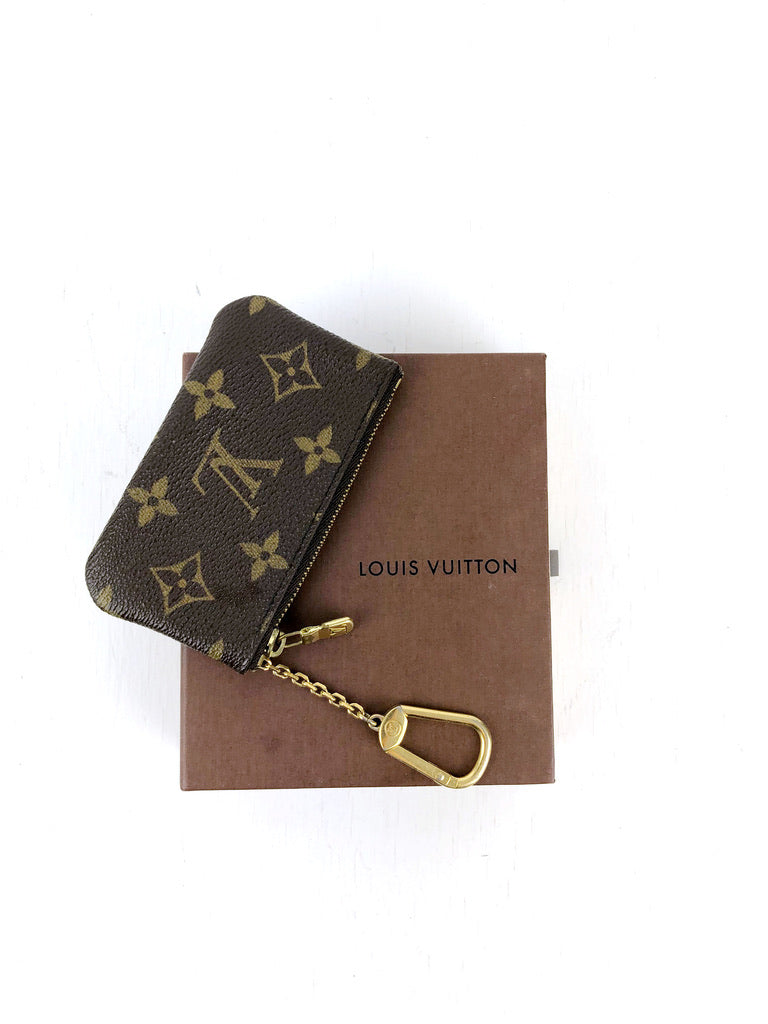 Louis Vuitton Monogram Lille Pung/Key Pouch