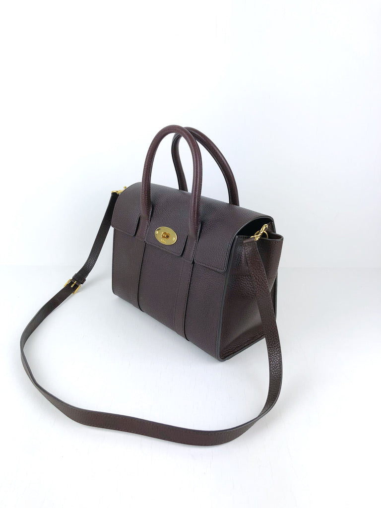 Mulberry Small Bayswater - Oxblood