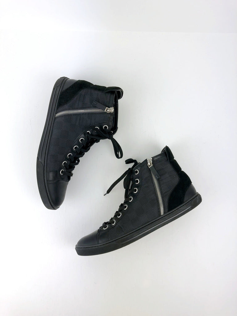 Louis Vuitton - High Top Sneakers - Str 7,5