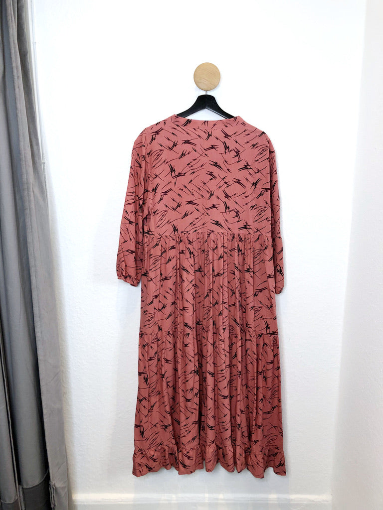 Month Of May Long Dress/Kjole - Str M/L