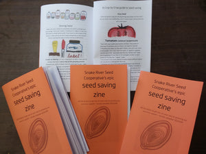 Seed Saving Zine! (Hard Copy)