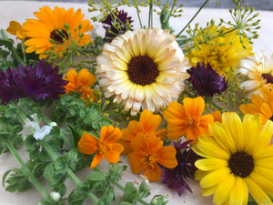 Flower Mix, Edible Flowers