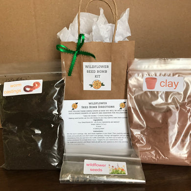 Wildflower Seed Bomb Kits