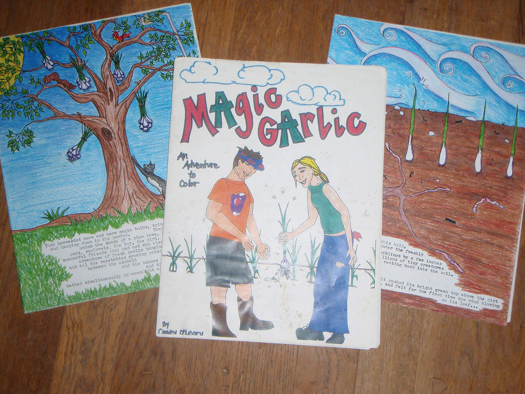 Magic Garlic Coloring Book