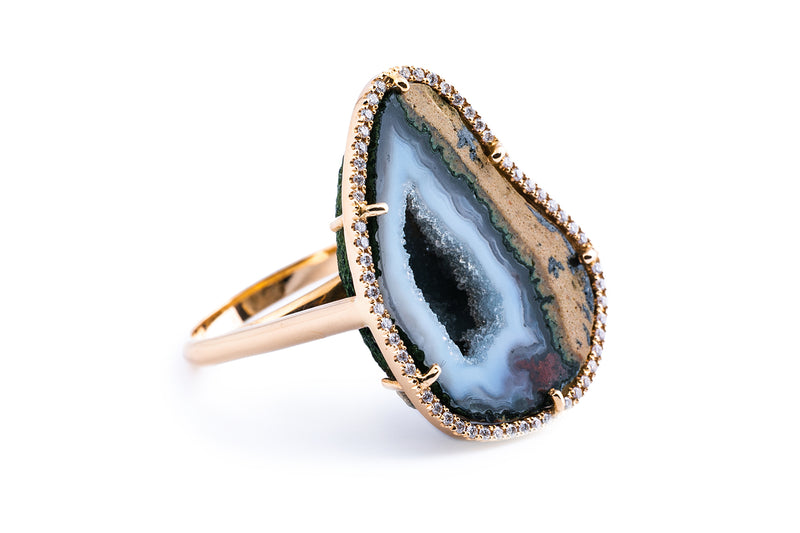 ROCKY ring, blue