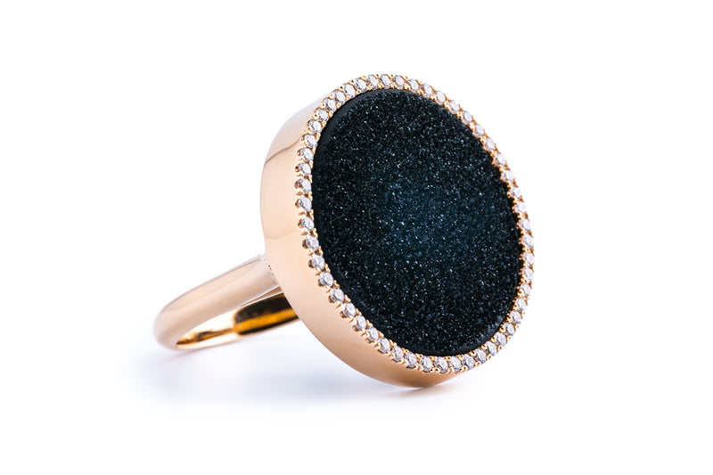 ANOUK ring, black