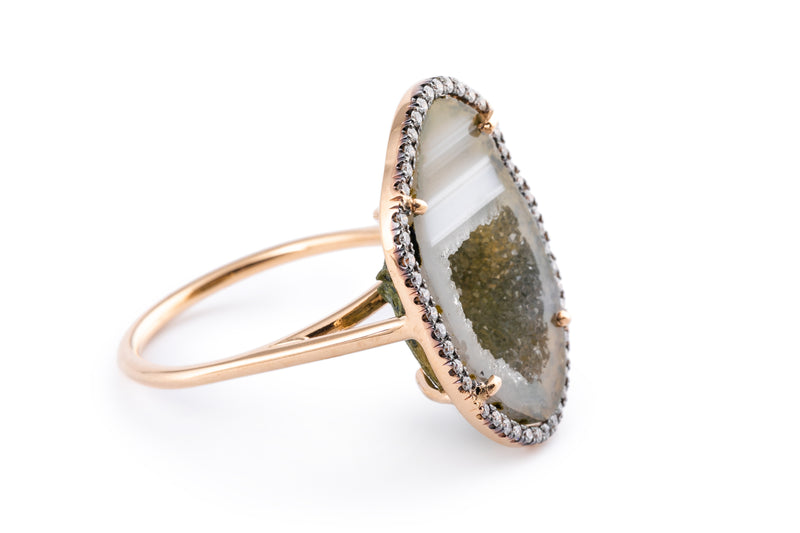ROCKY ring, olive