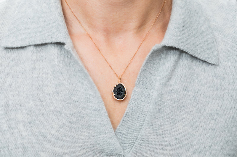LOUISE pendant, black