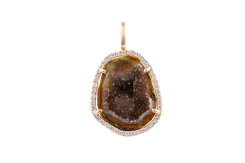 LOUISE pendant, brown