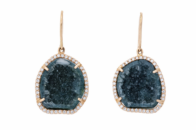 ALISON Earrings Blue/Green